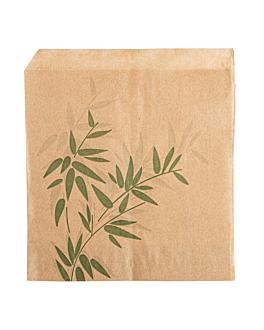 sachets ouverts 2 cÔtes 'feel green' 34 g/m2 13x14 cm naturel parch.ingraissable (1000 unitÉ)