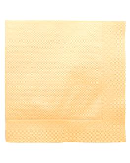 napkins ecolabel 4 ply 'quattro' 21 gsm 45x45 cm ivory tissue (750 unit)