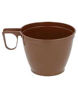 tasses À cafe 180 ml Ø7,7/5x6 cm marron ps (1000 unitÉ)