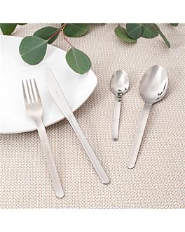 fourchettes 'lÍnea' 18,7 cm argente acier (12 unitÉ)