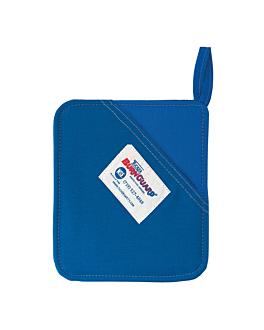 """almohadilla con bolsa """"burn guard"""" 20x20 cm azul fibra (1 unid.)"""