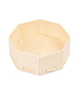 mini rÉcipients pour mise en bouche 8x8x3,5 cm naturel bois (200 unitÉ)