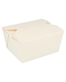 scatole americane per micro. 780 ml 280 + 18pe g/m2 11,2x9x6,4 cm bianco cartone (50 unitÀ)