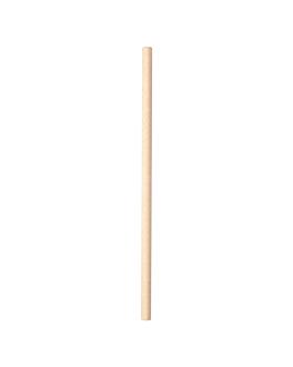 pajitas rectas Ø0,80x20 cm natural kraft (3000 unid.)