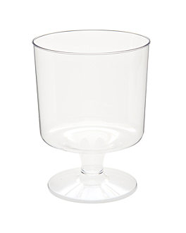injected goblets 170 ml Ø 6,6x8,6 cm clear ps (540 unit)