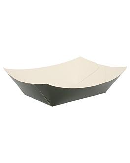barquillas 480 g 250 g/m2 10x6x5 cm negro cartoncillo (200 unid.)