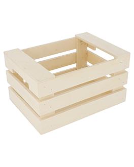 sctola per presentazione 17x12x9 cm naturale legno (20 unitÀ)