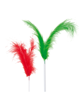 """ice cream decorations """"cocktail feathers"""" 17 (h) cm assorted (144 unit)"""