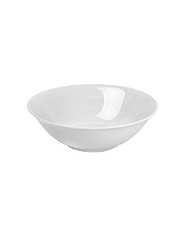bols 15x5 cm blanc porcelaine (6 unitÉ)