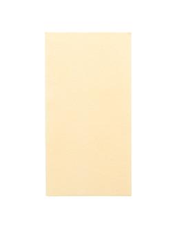 serviettes pliage 1/8 55 g/m2 40x40 cm creme dry tissue (750 unitÉ)