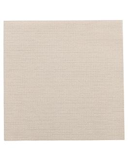 napkins 'like linen' 70 gsm 40x40 cm chocolate spunlace (600 unit)