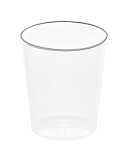injected shot glasses 20 ml Ø 3,7x4,2 cm clear ps (2700 unit)