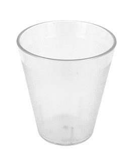 stackable cups 320 ml Ø 8,6x9,7 cm clear polycarbonate (72 unit)