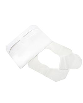 """protectores de asiento """"w.c."""" 41x36 cm blanco papel (5000 unid.)"""