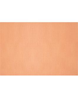 nappes pliage m 48 g/m2 80x120 cm salmÓn cellulose (200 unitÉ)