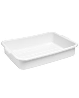 vaschetta multiuso 54x39x12,7 cm bianco plastica (1 unitÀ)