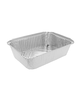 recipientes rectangulares 3000 ml 31,9x25,9x5 cm aluminio (400 unid.)