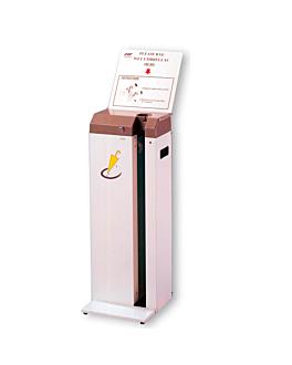 machine pour envelopper parapluies 30,5x17,8x83 cm blanc fer (1 unitÉ)