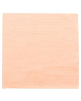 servilletas 'like linen' 70 g/m2 40x40 cm mandarina spunlace (600 unid.)