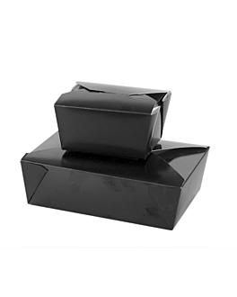scatole americane per micro. 2910 ml 400 g/m2+pp 21,7x21,7x6,4 cm nero cartone (35 unitÀ)
