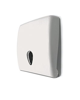 distributeur pour essuie-mains 27,7x13x37 cm blanc abs (1 unitÉ)