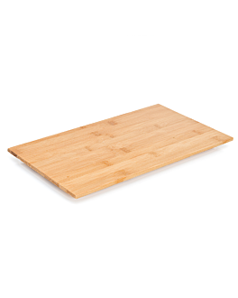 tÁbua plana 36,8x21x2,2 cm bambÚ (1 unidade)