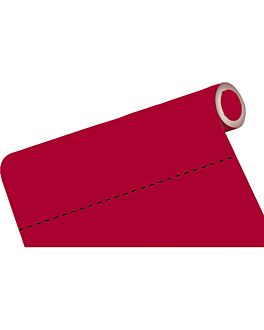 mantel precortado - 60 segmentos 60 g/m2 80x120 cm burdeos airlaid (4 unid.)
