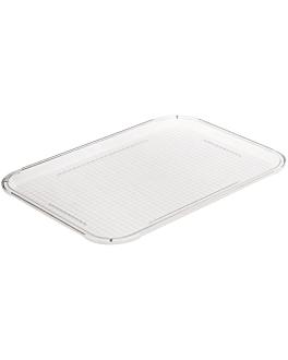 plateau pour coupole 31,5x42 cm transparent polycarbonate (1 unitÉ)