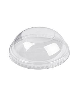 couvercles coupole pour rÉcipients 230.33/222.92/217.61 Ø 9,4 cm transparent pet (2000 unitÉ)