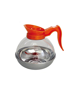 jarre cafÉ 1920 ml  orange polycarbonate (1 unitÉ)