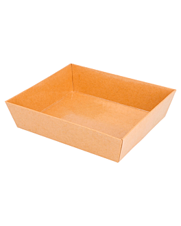 containers 250 + 12,5 pe gsm 14x13x3,5 cm natural kraft (1000 unit)