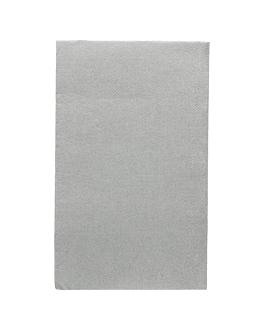 ecolabel napkins f. 1/6 'double point' 18 gsm 33x40 cm grey tissue (2000 unit)