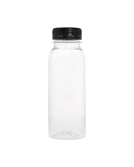 mini bottles 250 ml 5,2x5,2x14,5 cm clear pet (231 unit)