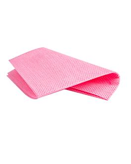 "25 u. wipes ""super perfokleen"" 80 gsm 36x42,5 cm red viscose (1 unit)"