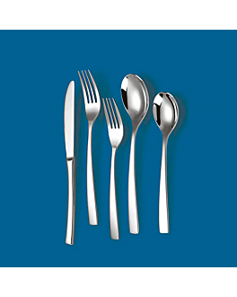 "cuilleres de table ""linea 2066"" 20 cm / 3,0 mm metal inox 18% (12 unitÉ)"