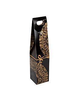 """50 u. cajas 1 botella """"noËl"""" 9,5x44 cm surtido cartÓn (1 unid.)"""