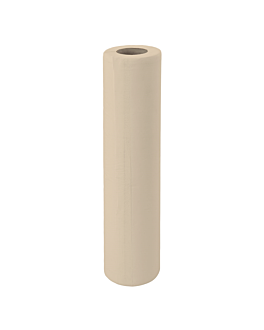 """papier zur liegenabdeckung ecolabel 2-lagig """"ws"""" - 120 blÄtter 19 g/m2 0,65x48 m natur recycelt papier (12 einheit)"""
