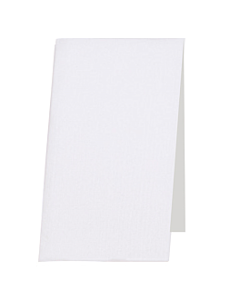 hand towels flushables 50 gsm 30x40 cm white cellulose (900 unit)