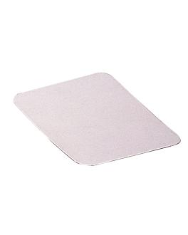 tapas para cÓdigos 135.95/96 22x17,2 cm blanco aluminio (100 unid.)