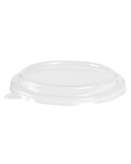 couvercles pour saladiers 212.97,226.37,226.38 Ø 18,4 cm transparent pet (300 unitÉ)