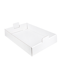 boxes to group 54,5x38,5x9,5 cm white cardboard (50 unit)