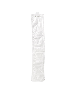 sleeves for umbrellas 69,5x10,2 cm clear pehd (6000 unit)