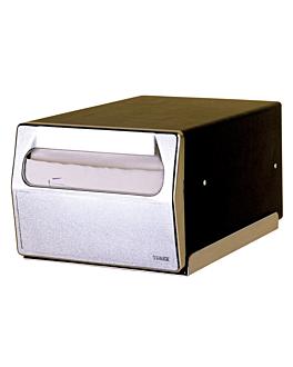 dispenser super-servis 200 servilletas 29x20,2x14,6 cm negro hierro (1 unid.)