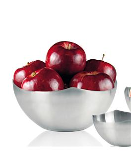 bol pour pain/fruit Ø 24x10 cm argente inox (1 unitÉ)