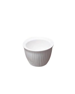 ramequines 170 ml Ø 9 cm blanco porcelana (6 unid.)