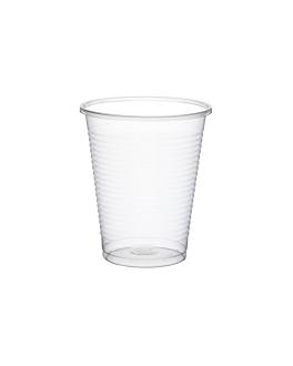 vasos econÓmicos 200 ml Ø 7x8,5 cm transparente pp (3000 unid.)