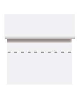 mantel precortado - 125 segmentos 48 g/m2 80x80 cm blanco celulosa (4 unid.)