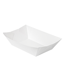 containers 'thepack' 1440 g 230 gsm 13,5x8,5x6,2 cm white nano-micro corrugated cardboard (600 unit)