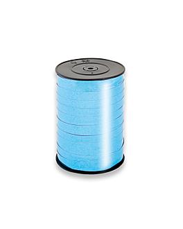 """cinta """"espejo"""" 10 mm x 250 m turquesa pp (1 unid.)"""