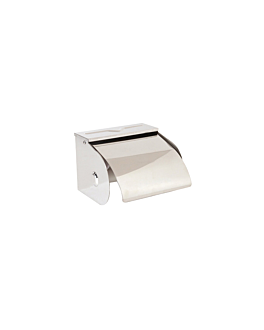 domestic toilet paper dispenser 12,5x10x9,5 cm silver stainless steel (1 unit)